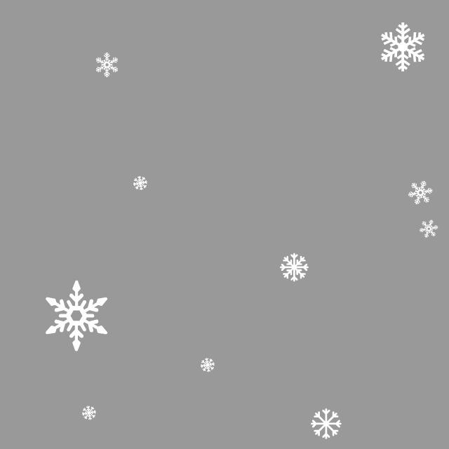 quandrato grigio chiaro con fiocchi bianchi