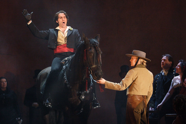 Kyle Ketelsen as Escamillo in Carmen © ROH / Catherine Ashmore 2008