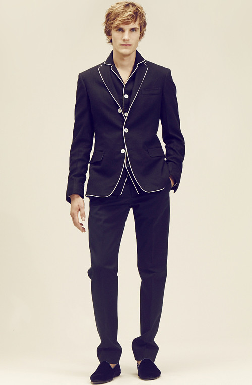 BOTTEGA VENETA  2014 CRUISE MENS COLLECTION004_Anthon Wellsjo