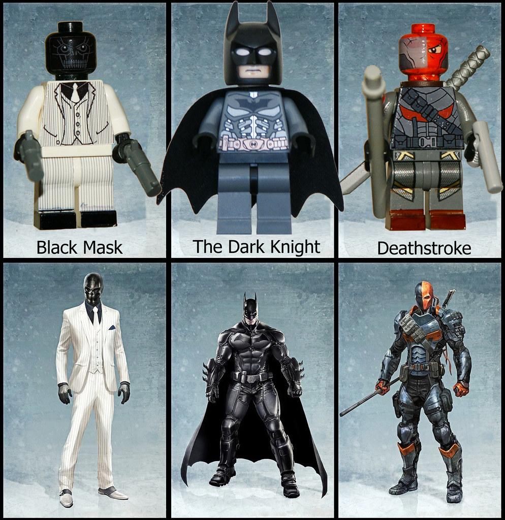 LEGO - Arkham Origins - Black Mask - Batman - Deathstroke ...