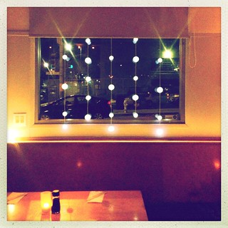 Window Treatment at Moshi Moshi