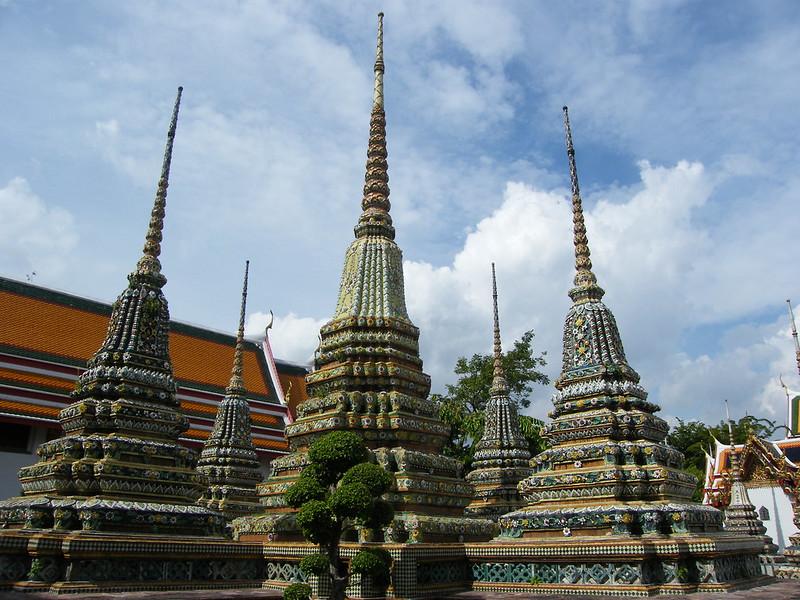 Estupas Wat Pho
