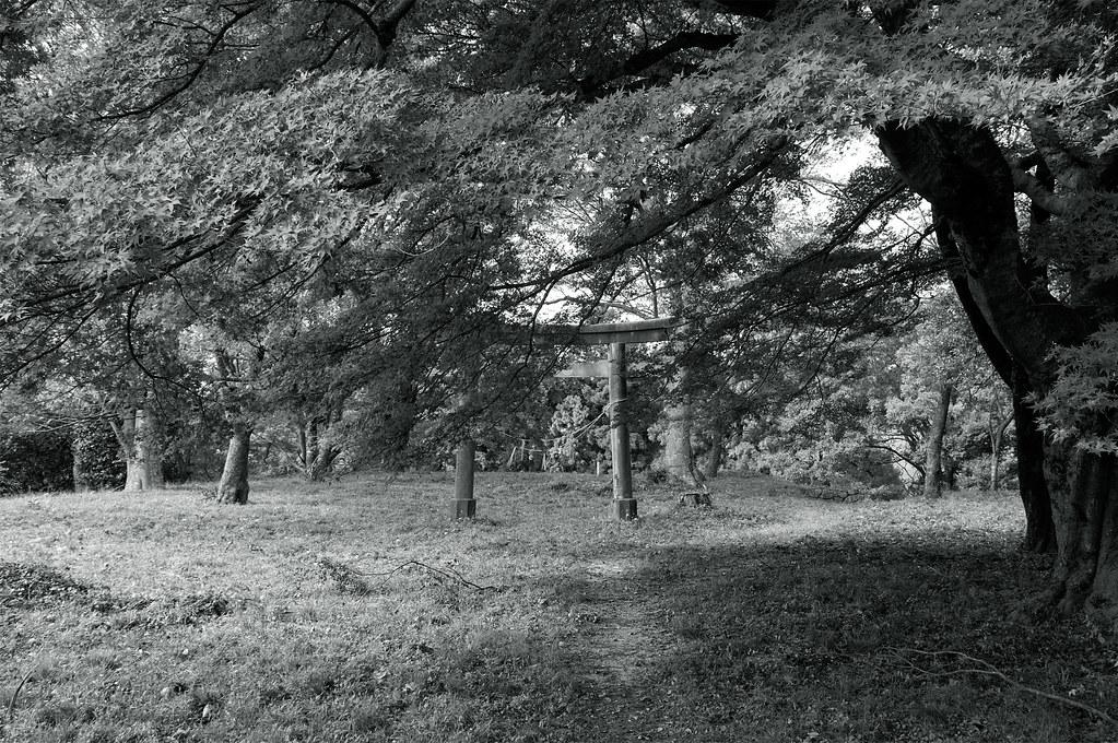 鳥居|月山富田城跡|島根県安来市