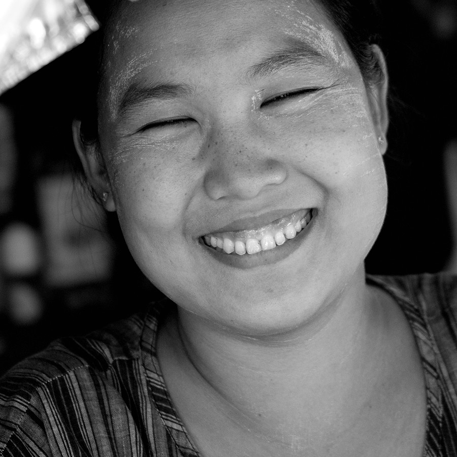 The Smile of Myanmar (Burma)