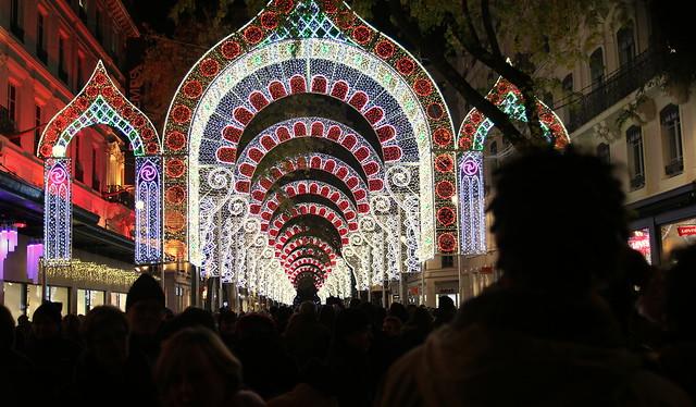 Festival of lights in Lyon