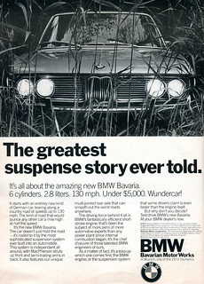1971 BMW Bavaria Advertising Road & Track June 1971