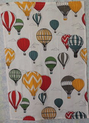 The Other Balloon-themed Tea Towel