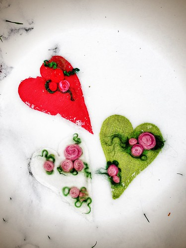 lavendel hearts