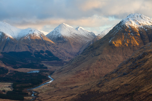 Etive Valley by svensl