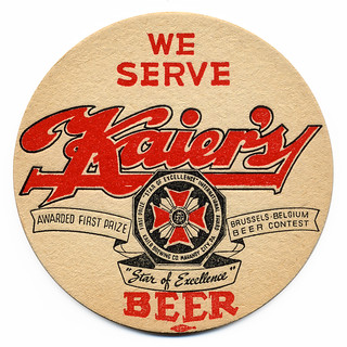 We Serve Kaier's Beer