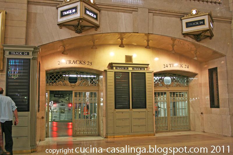 Grand Central Bahnsteige