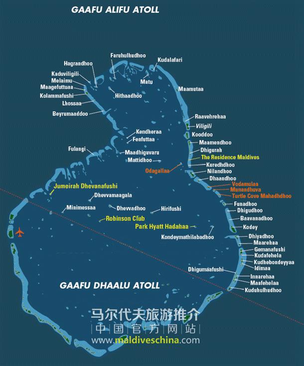 马尔代夫Gaafu Alifu环礁