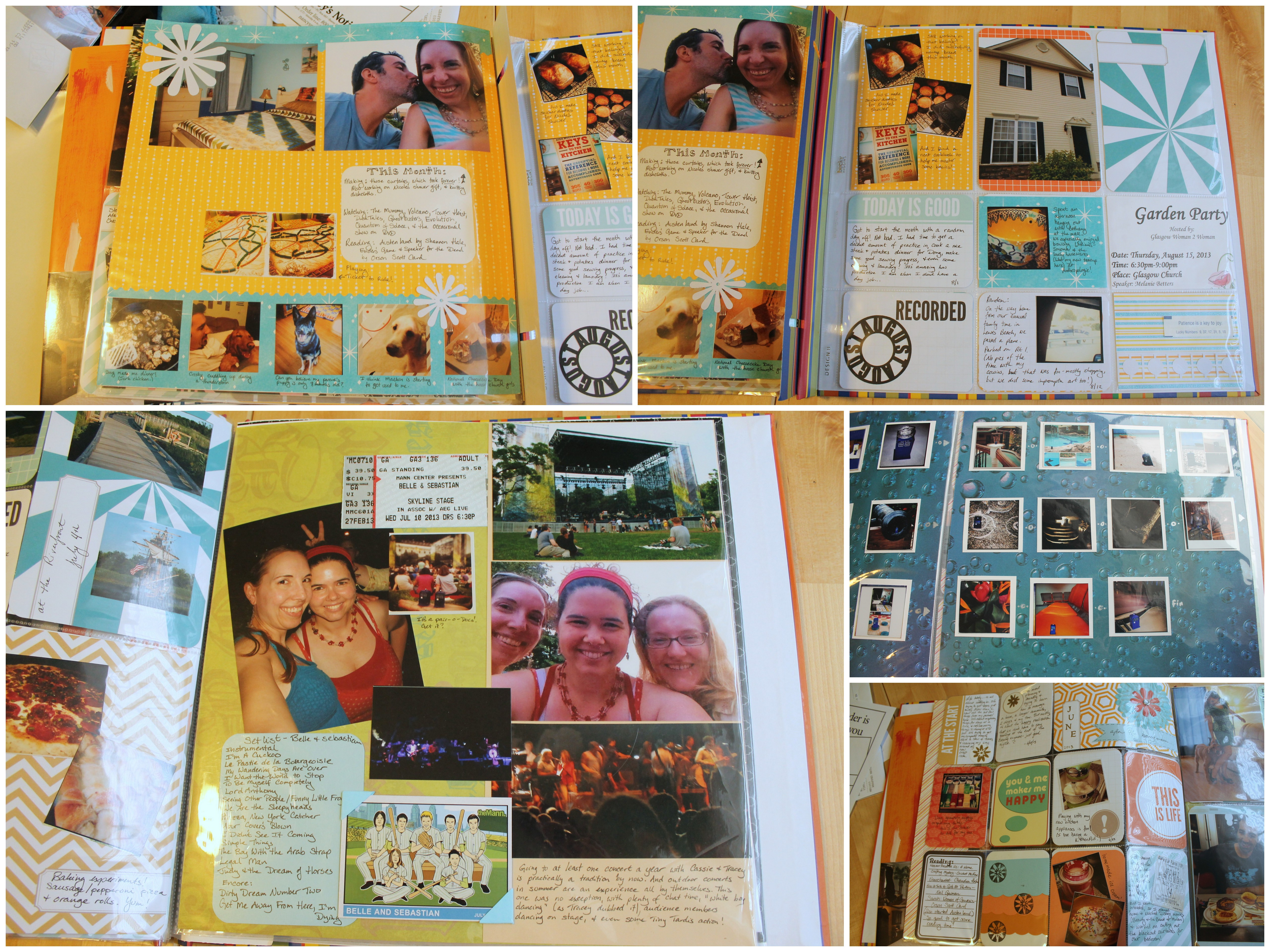 Scrapbook Layouts, 2013