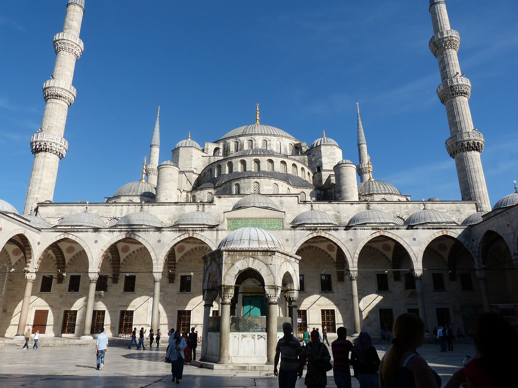 Blue Mosque Courtyard