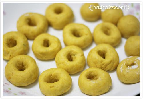 11636825044 96273e3d34 o donut labu sedap untuk adik dan abang