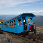 The cog train, Mount Washington