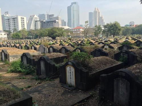 曼谷潮州墓地