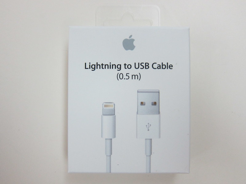 Apple Lightning to USB Cable (0.5m) - Box Front
