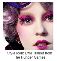 Style Icon: Effie Trinket from The Hunger Games