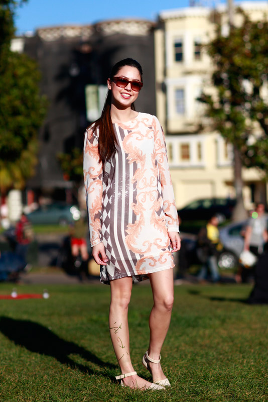 sandia_dp Dolores Park, Quick Shots, San Francisco, street fashion, street style, women