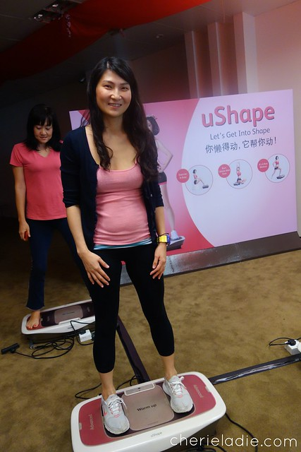 Cherieladie at OSIM uShape Bloggers Event, OSIM Headquarters
