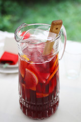 strawberries(0.0), strawberry(0.0), soft drink(0.0), produce(0.0), food(0.0), liqueur(1.0), fruit(1.0), punch(1.0), drink(1.0), cocktail(1.0), juice(1.0), alcoholic beverage(1.0),