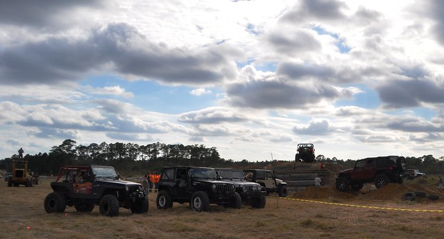 Medium Obstacle Course, Gone Country Jeep Weekend, Redneck Yacht Club, Punta Gorda, Fla., Jan. 25, 2014