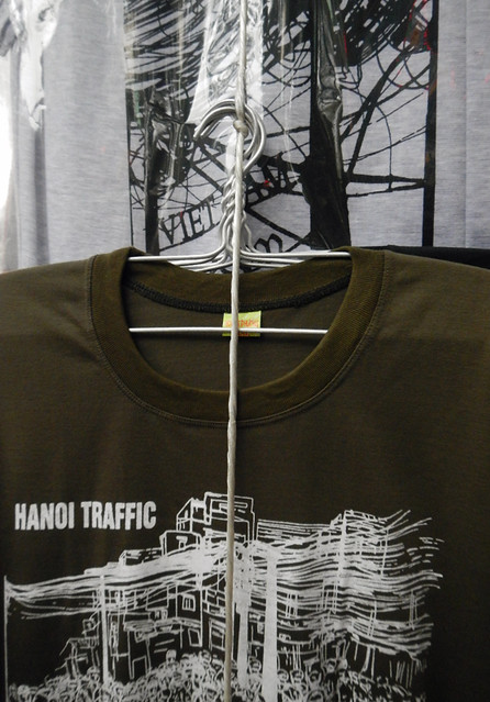 Hanoi Electrical Wiring Featured on a T-Shirt