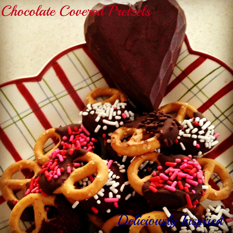 Valentine's - Chocolate Covered Pretzels