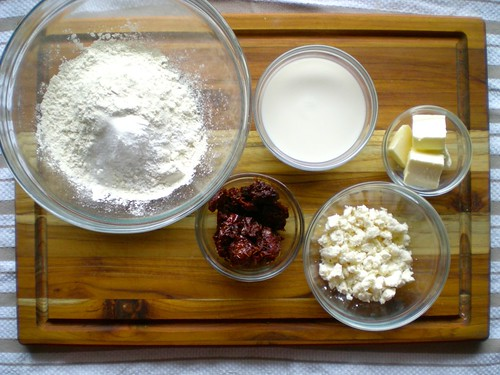biscuit ingredients, at the ready