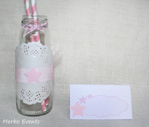 Fajines botellines Kit cumpleaños estrellas Merbo Events