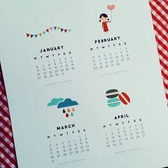für süße kalender ist es nie zu spät :)