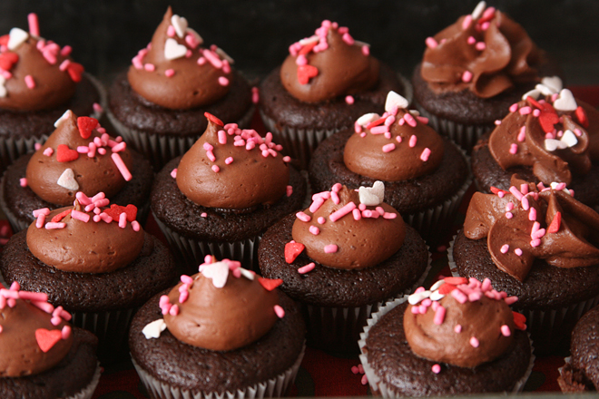 triple chocolate cupcakes 9