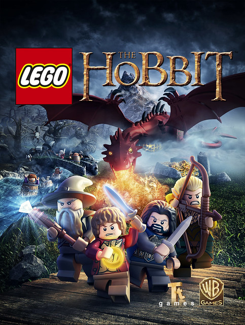 LEGO Hobbit Video Game Poster
