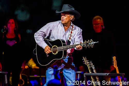 George Strait - 02-14-14 - The Cowboy Rides Away Tour, The Palace Of Auburn Hills, Auburn Hills, MI