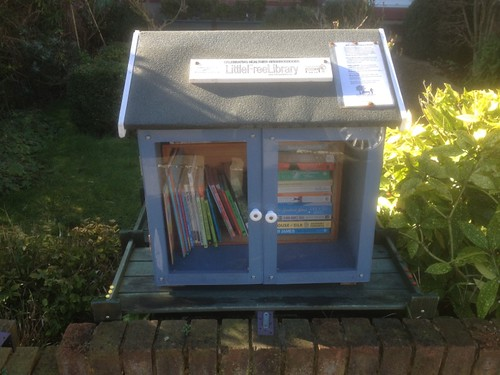 The Little Free Library at Severn Drive, Upminster