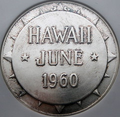 Hawaii Eisenhower medal obverse