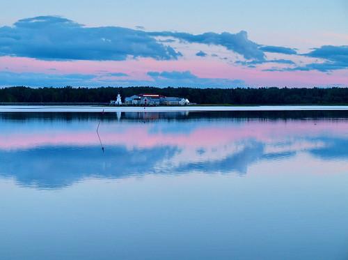 sunset sea canada reflections twilight newbrunswick bouctouche nbphoto