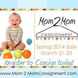 Mom2Mom Spring Consignment Sale Winchester VA