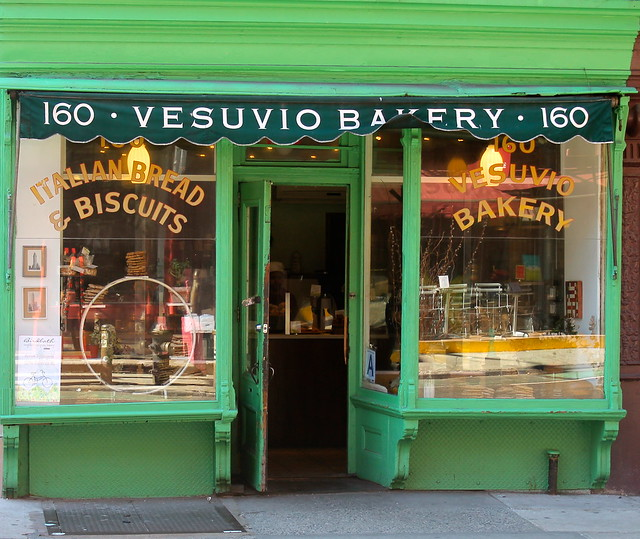 Vesuvio on Prince Street, NYC