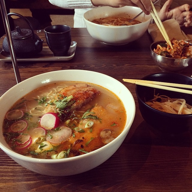 Amazing ramen and kimchi. Yay for serendipitous IACP lunches!