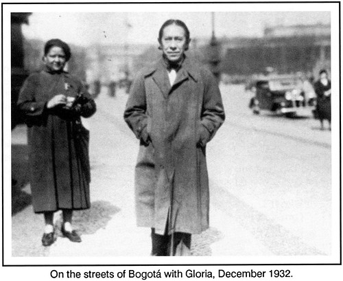 Gloria and Agustin in Bogota, Dec. 1932 by Poran111
