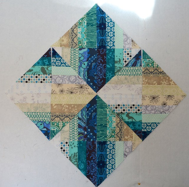 Blended Scraps Blocks - tutorial 7