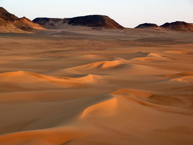 Dunas del desierto Líbico (Egipto)