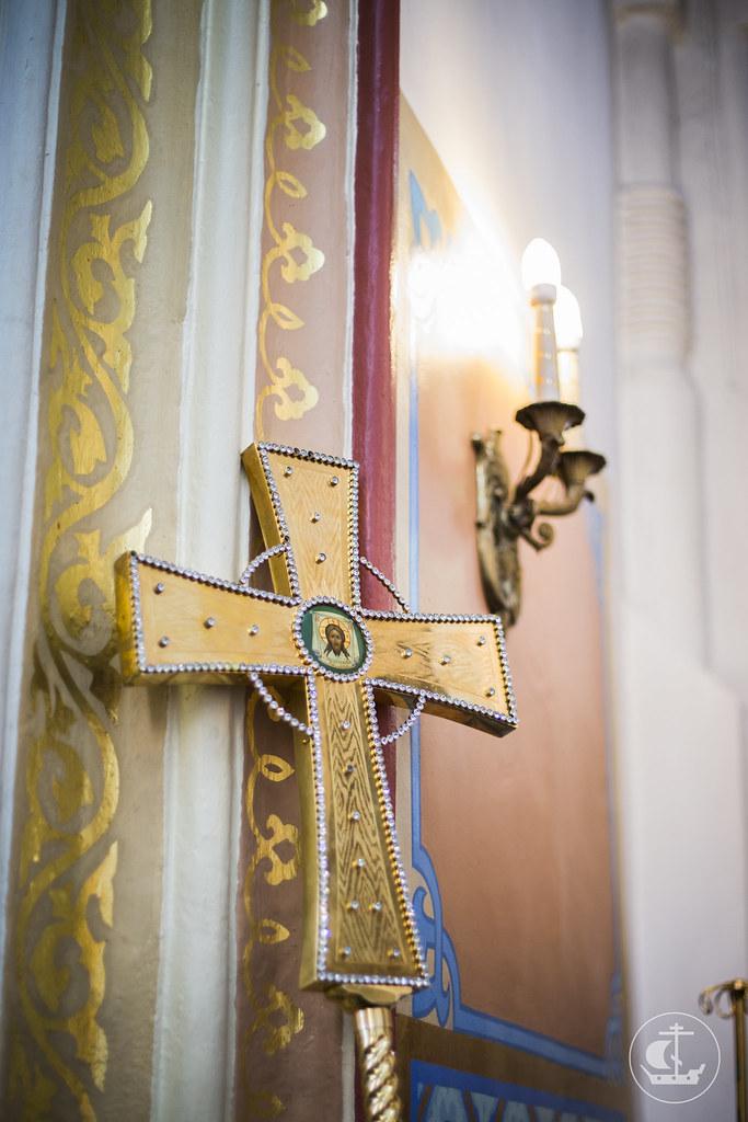 3 апреля 2014, Литургия в Покровском соборе Гатчины / 3 April 2014, Liturgy in the Cathedral of the Intercession of Gatchina