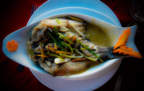 Inle Lake: Fish from the Lake for Lunch...