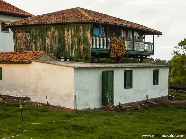 Hórreo asturiano, o hórrio