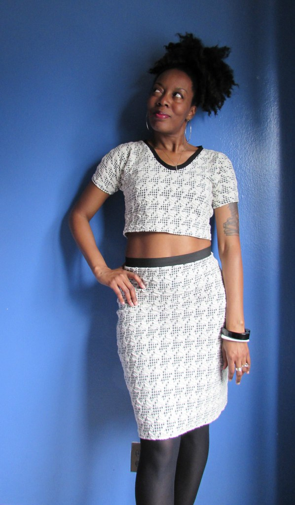 Black : White : Houndstooth & Sexy