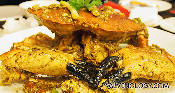 Scottish Brown Crab in White Pepper (S$58/kg)