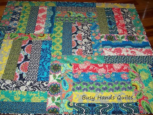 Amy Butler Lark Lap Quilt